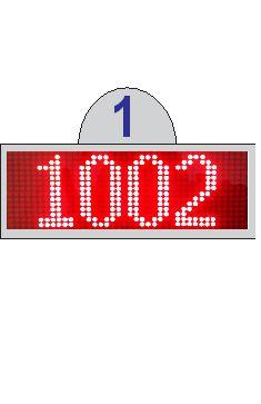 Bảng hiển thị quầy/ phòng khám: (CD-1501P)
