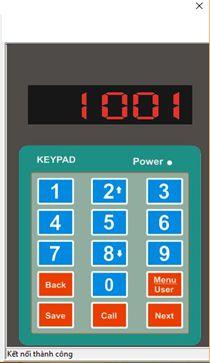 phần mềm bàn phím gọi số