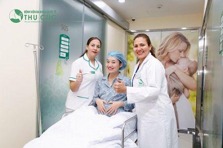 bệnh viện đa khoa thu cúc có lắp đặt báo gọi y tá không