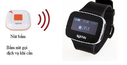 cách sử dụng đồng hồ báo gọi SB-600