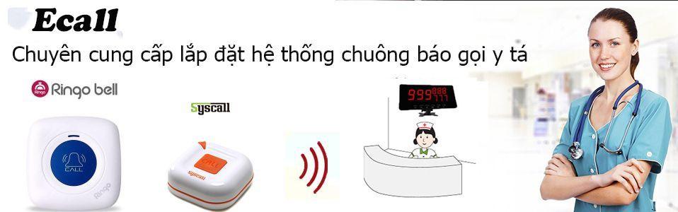 chuông gọi y tá không dây dùng trong bệnh viện