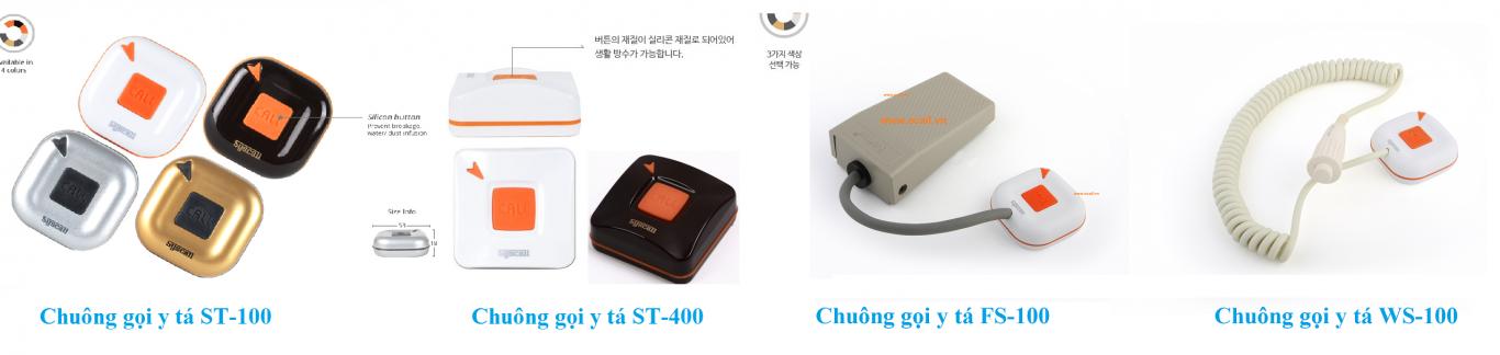 Chuông gọi y tá ST-100, ST-400, FS-100 và WS-100