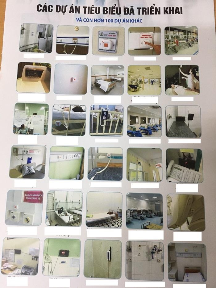 chuông gọi y tá và các dự án bệnh viện triển khai