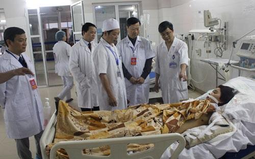 đán giá tiêu chuẩn chất lượng tại bệnh viện hậu nghĩa