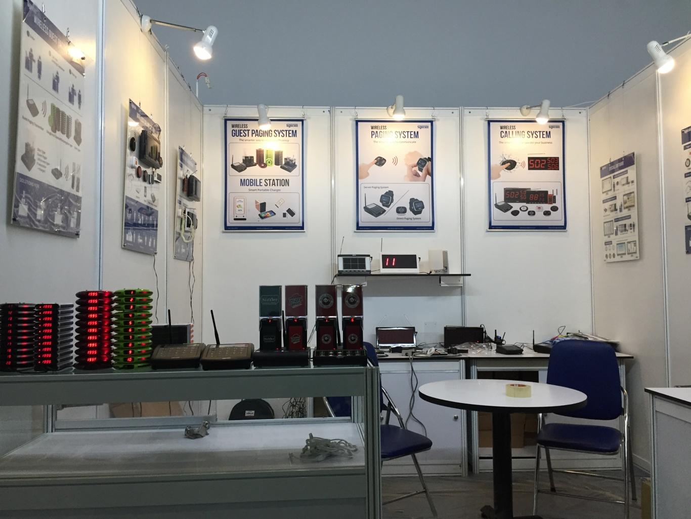 Ecall giới thiệu chuông gọi y tá không dây trong triển lãm Vietfood & Beverage and ProPack