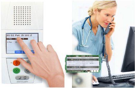 các mẫu báo gọi y tá Zettler