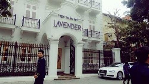 lắp đặt chuông gọi y tá trực cho thẩm mỹ viện lavender