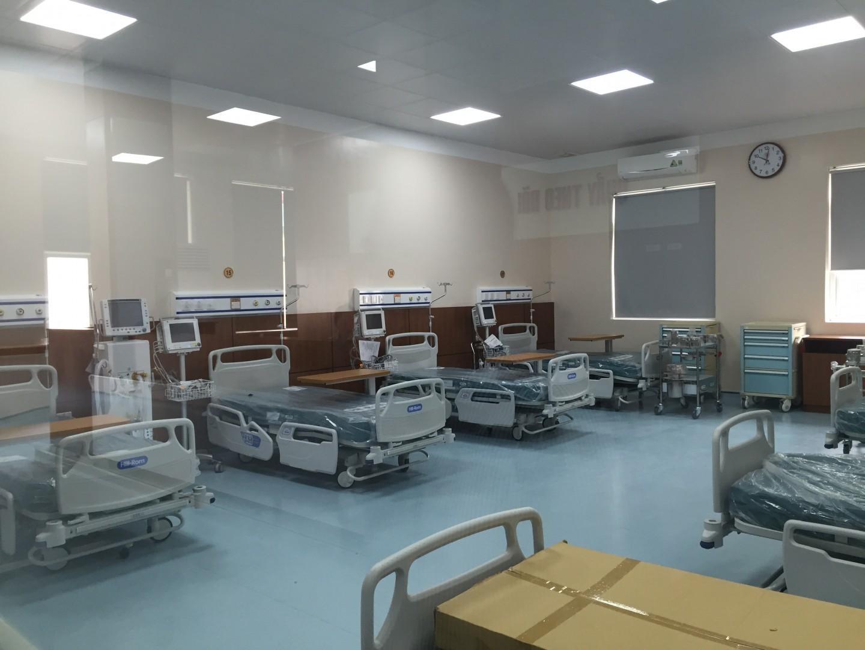 Lắp đặt hệ thống chuông gọi y tá cho khoa khám chữa bệnh theo yêu cầu của BV quân đội