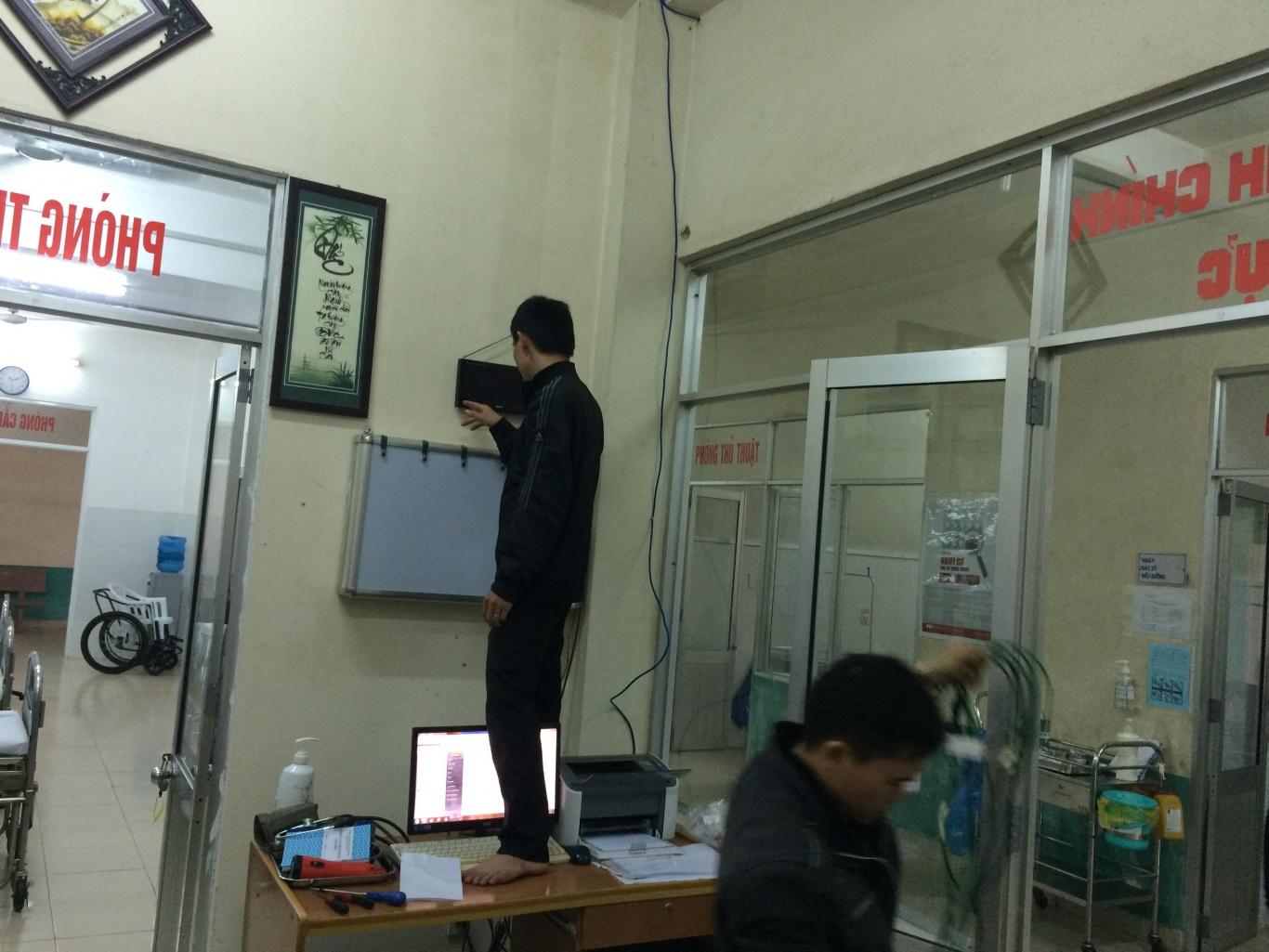 Dự án lắp đặt bảng hiển thị chuông gọi y tá SR-2003 cho trung tâm y tế quận Ngũ Hành Sơn Đà Nẵng