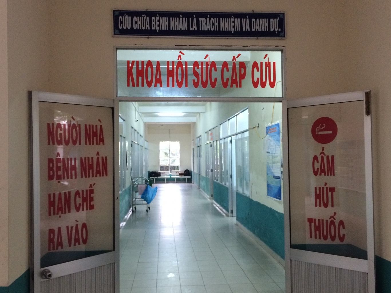 trung tâm y tế quận Ngũ Hành Sơn Đà Nẵng đã lắp nút chuông bấm gọi y tá ST-100 và bảng hiển thị SR-2003