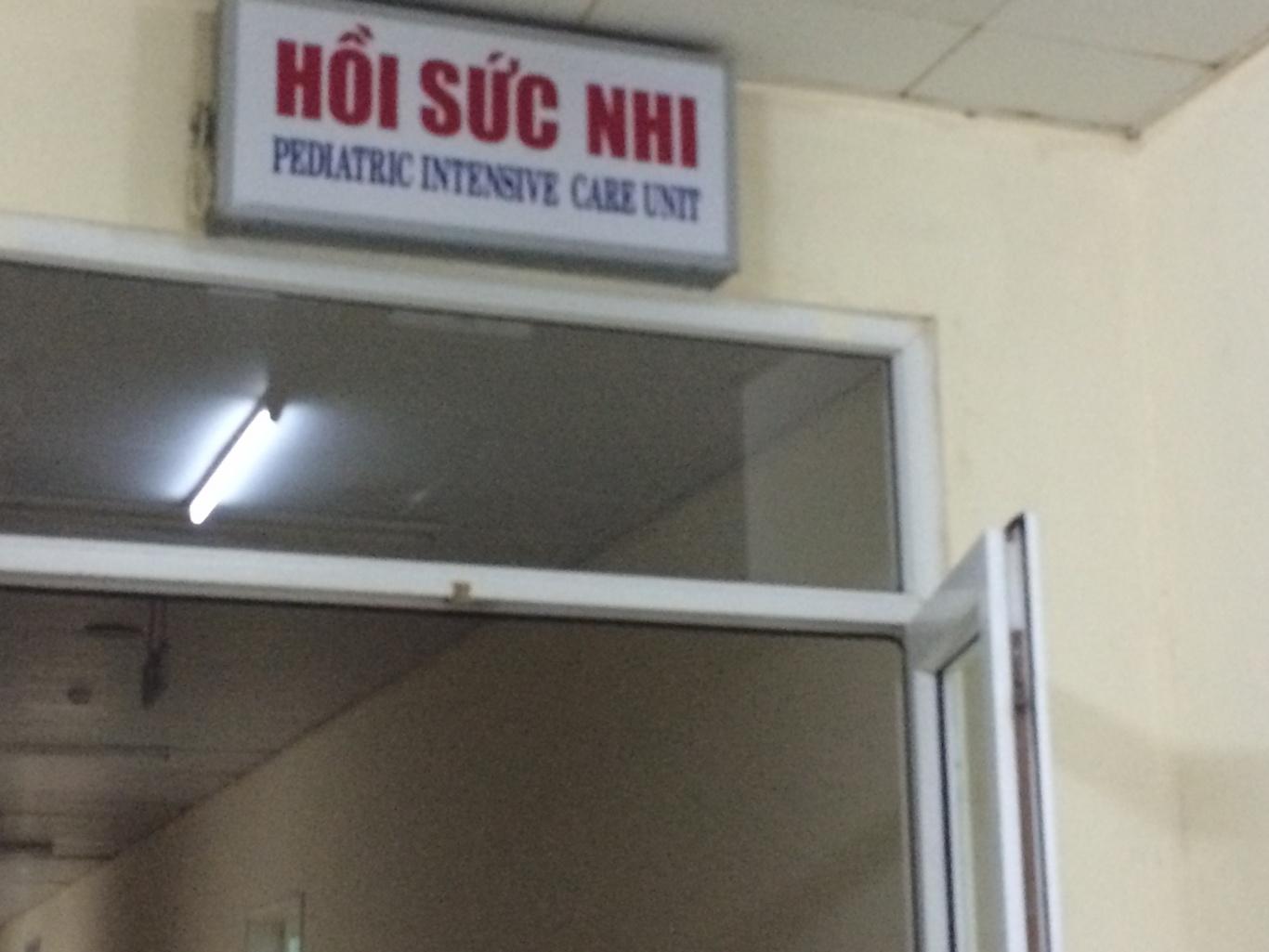 Lắp đặt nút chuông gọi y tá ST-100 và màn hình SR-330 cho khoa hồi sức nhi – BVPS Nhi Đà Nẵng