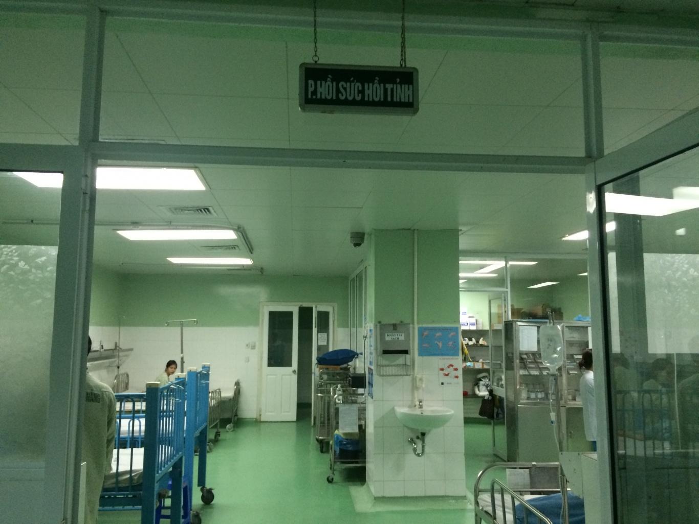 Dự án lắp đặt nút chuông gọi y tá WS-100 khoa gây mê hồi sức BVPS nhi Đà Nẵng