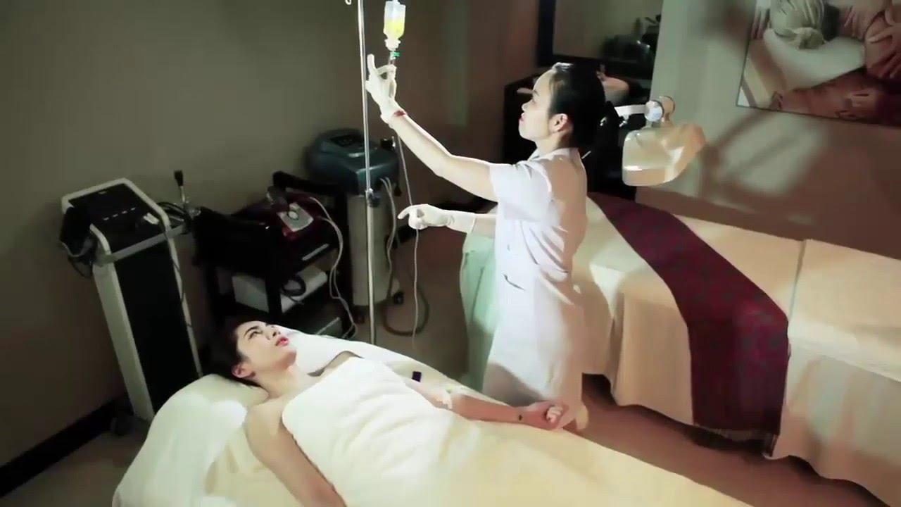 mỗi phòng điều trị đều được lắp đặt nút chuông gọi y tá ST-100