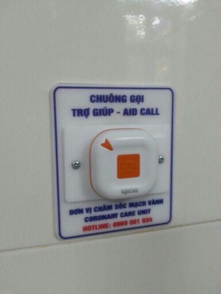 hệ thống chuông gọi y tá tại bệnh viện bạch mai