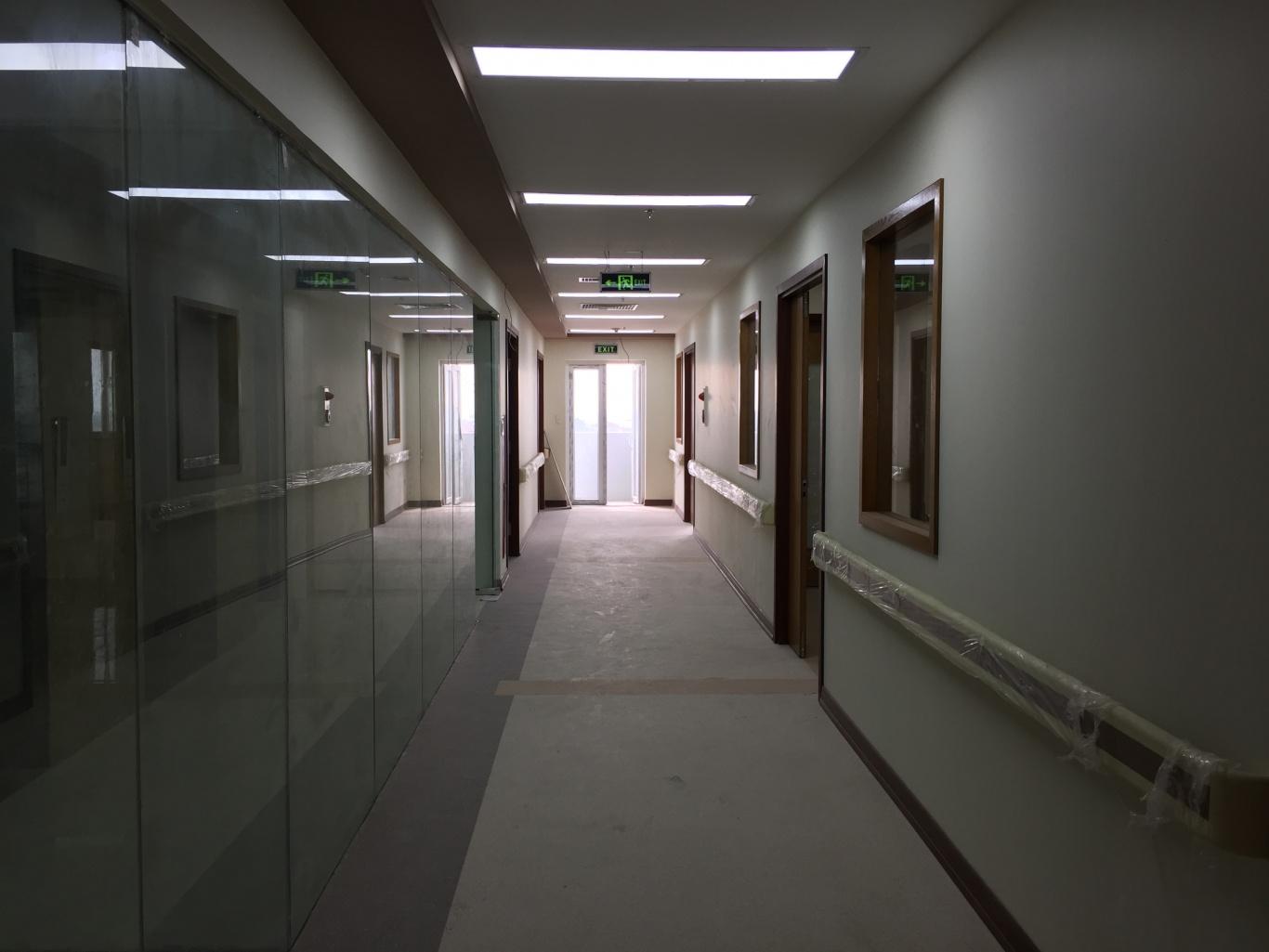 quy mô của phòng khám đa khoa thiên tâm