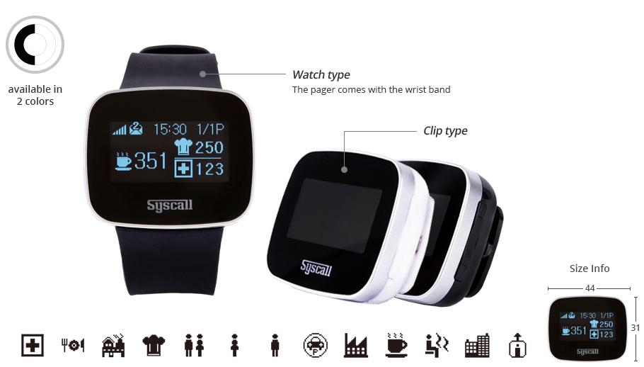 Đồng hồ báo gọi y tá trực tiếp SB-600